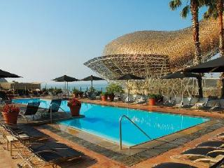 Sleek Hotel Arts Barcelona Royal Suite with staff, amenities & free Mini Cabrio - Barcelona vacation rentals