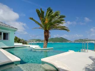 EL SUENO...unsual oceanfront villa with amazing views of Great Bay Harbor... fabulous!! - Sint Maarten vacation rentals