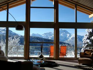 Swiss Alps, Villars, 6 bedroom contemporary chalet - Image 1 - Vaud - rentals