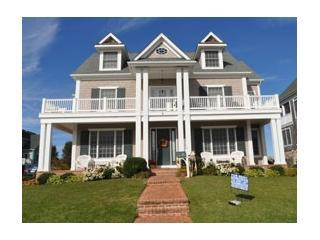 Terrific 'man cave' game room and ocean views - Jersey Shore vacation rentals