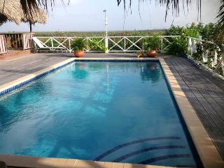 Large Hill Top House Great Island Round Views Large Pool Ocean View. Good Price - Kralendijk vacation rentals