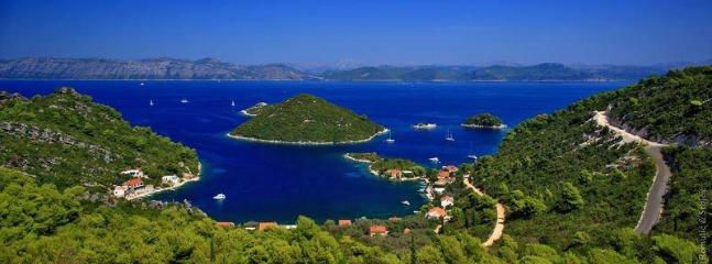 Prozura /3 bedroom apt - Mljet vacation rentals