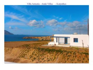 Villa Armatia Karpathos 6 sleeps 52mt from the sea - Dodecanese vacation rentals