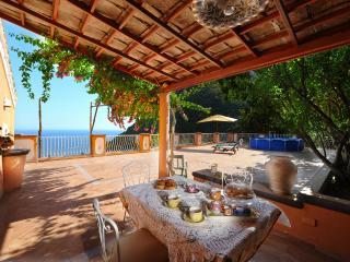 Huge terrace, sea view - V715 - Positano vacation rentals