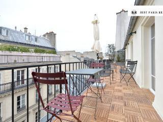 Superb Opera Penthouse 200m2 terrace 5 sleeps - Paris vacation rentals