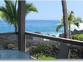 Surf & Racquet 1201 2/2 oceanfront - Kailua-Kona vacation rentals