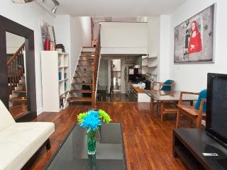 Sunny & spacious two-level studio near UN-sleeps 4 - New York City vacation rentals
