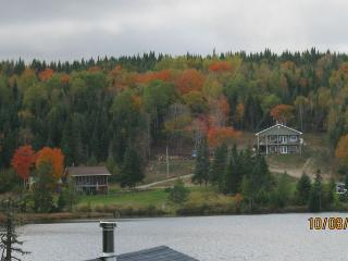 Lake front Log Home ( year round vacation rental ) - Bonaventure vacation rentals