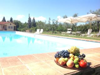 Tuscany: Villa with private pool for 11 people - Loro Ciuffenna vacation rentals