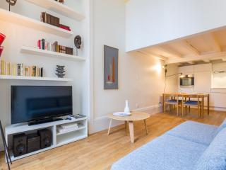 salon - TV - Bibliothèque - 2-3 pers full furnished flat - center Lyon - Opera Majeur - Lyon - rentals