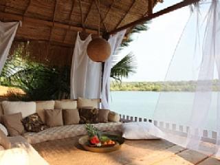 Riverside gazebo - Riverview Villa, Palolem, Canacona - Canacona - rentals