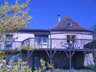 Stone built country house with a magnificent view - Plazac vacation rentals