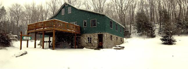 Winter view - Panther Lodging for groups large and small - Newfoundland - rentals