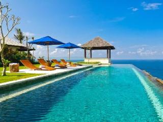 Beachfront Villa Nora with ensuite bedrooms each with private deck and access to resort amenities - Uluwatu vacation rentals