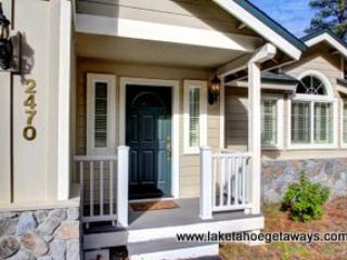 Covered Front Porch - Echo View Retreat - South Lake Tahoe - rentals