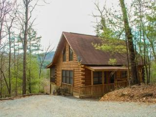 3 BEARS LODGE- 2BR/1.5BA-BEAUTIFUL MOUNTAIN VIEW, GAS LOG FIREPLACE, HOT TUB ON SCREENED PORCH, GAS GRILL, AND A FOOSBALL TABLE! - North Georgia Mountains vacation rentals