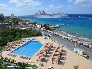 Top Floor View!!  See Pics.  5++++star reviews, - Cozumel vacation rentals