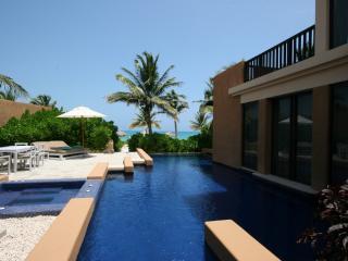 Luxurious 3 bedroom oceanfront pool villa - Playa del Carmen vacation rentals