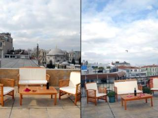 2 BR SEA-VIEW TERRACE FLAT IN SULTANAHMET SQUARE - Istanbul vacation rentals