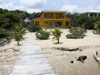 The Mellow House - three bedroom beachfront home - Placencia vacation rentals