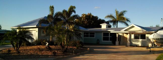 House, Garage, Driveway from Commodore - Waterfront Vacation Home, Florida's Treasure Coast - Palm City - rentals