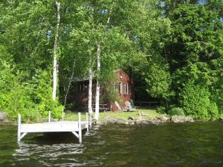 #149 Cottage on water`s edge with view of Big Moose Mountain! - Abbot Village vacation rentals