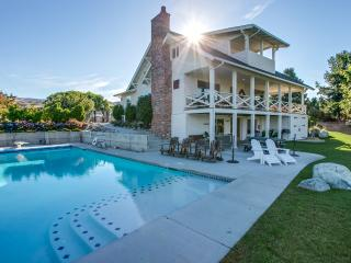 Private View Farm House with Large Pool on 12 Acres Cherry Orchard - Peshastin vacation rentals