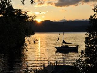 Gorgeous sunset views on beautiful Lake George! - Bolton Landing vacation rentals