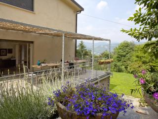 Apartment in villa with large covered terrace - Bergamo vacation rentals