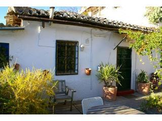 Front of the house from Garden - Casa Zoraida - Province of Granada - rentals