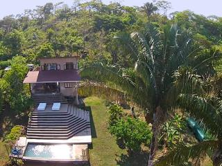 $1100-2 br/2 bth+Twin Loft (sleep 7+Additional Cabina Available sleeps 4) - Ocean view w/ Private Pool - Montezuma vacation rentals