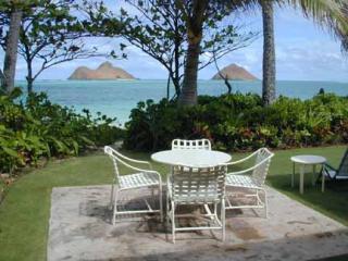 POL-backyard - Pua O Lanikai 6BR, Pool, A/C, Oceanfront - Kailua - rentals