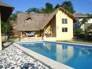 Caribbean style 2 bedroom villa with pool - Las Terrenas vacation rentals