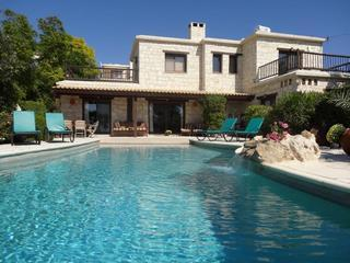 Luxury 5* 4-Bed Stone Villa in Peyia, Coral Bay - Fyti vacation rentals