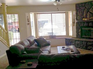 Gorgeous 2 story 2bd 3ba, knotty pine decor, private patio opens to Apahe Reservation/ Billy Creek - Pinetop vacation rentals