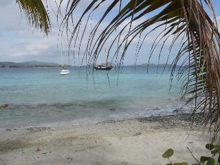Seaside Vista: Beach front 1or 2 bdrm, walk 2 Town - Cruz Bay vacation rentals