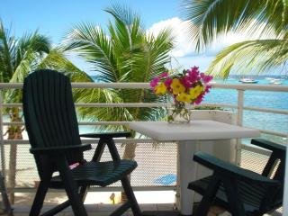 Beachfront condo - Saint Martin French side Marigo - Marigot vacation rentals