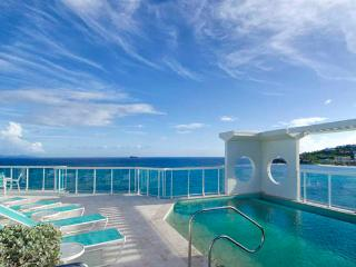 Lighthouse Penthouse 6B...spectacular views of both the ocean and marina, St Maarten - Oyster Pond vacation rentals
