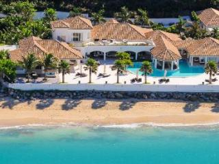 Petite Plage 4 - Beachfront villa with huge pool, contemporary decoration & scenic sunsets - Grand Case vacation rentals