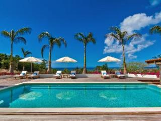 Hacienda - Fantastic villa offers pool, sunset views & tropical landscaping - Terres Basses vacation rentals