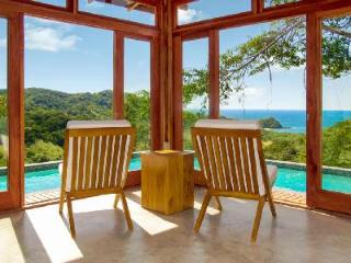 Eco-friendly Villa Seis with wraparound infinity edge plunge pool and ocean views - Guayabo vacation rentals