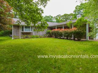CAMPA - WIFI, CENTRAL A/C, LARGE YARD, SCREENED PORCH AND EASY CENTRAL LOCATION TO WEST TISBURY AND VINEYARD HAVEN - West Tisbury vacation rentals