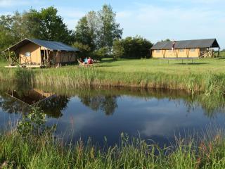 Aan het Diepje, furnished safaritents - Groningen vacation rentals