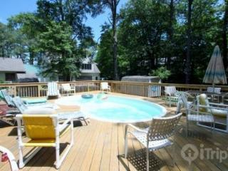 Quiet 4 BR with Prvt Pool, 4 Blocks from the Beach, Huge Open & Enc. Decks, Opt Linens & Bath Towels - Delaware vacation rentals