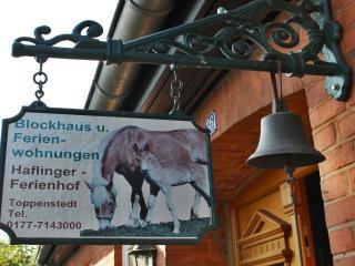 Blockhaus auf Haflingerhof HH - Heide vacation rentals