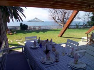 Waterfront Villa Eretria with private beach - Eretria vacation rentals
