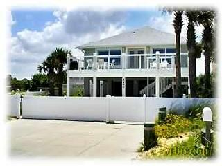 Oceanfront Private 5 Bdr House - No drive Beach - New Smyrna Beach vacation rentals