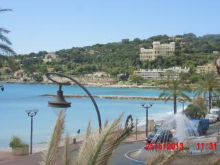 COTE D'AZUR:  grand studio + terrasse 10m² vue mer - Roquebrune-Cap-Martin vacation rentals