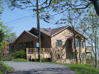 Mountain Breeze with multi-mountain range view, spacious two level home - Blowing Rock vacation rentals