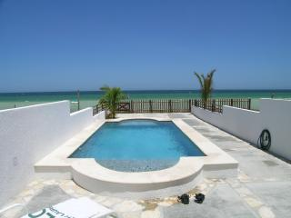 Beachfront Villa with Pool & High Speed Internet - Telchac Puerto vacation rentals